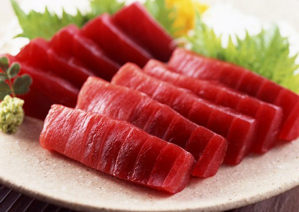 Cá ngừ đại dương Saku_Sashimi