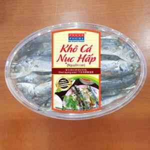 Khô cá nục hấp nguyên con